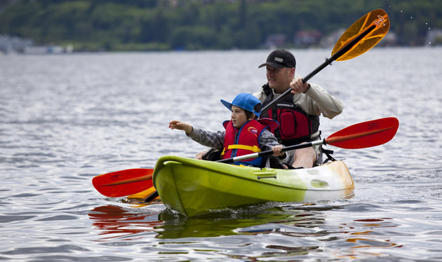 Tandem kayak blog a great blog on tandem kayaks and for Solo fishing canoe